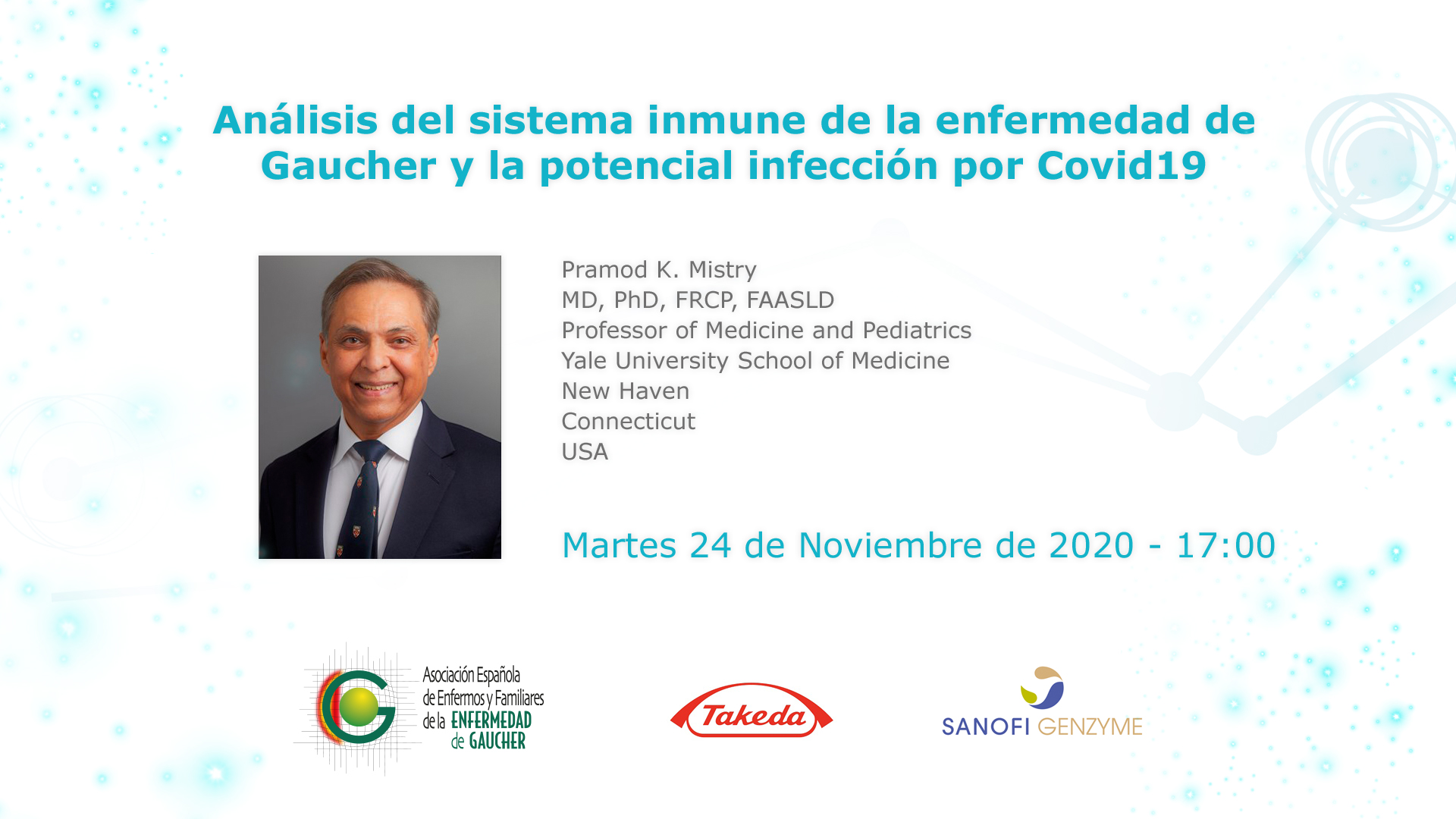 Análisis del sistema inmune de la enfermedad de Gaucher y la potencial infección por Covid19